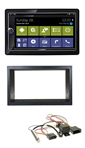 Blaupunkt Cape Town 945 World MP3 CD 2DIN DVD Bluetooth Autoradio für VW Golf 4 Passat Polo T4 Fox ISO Phantom (Phantom-cape)