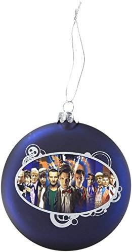 Dr Who Doctor Who Kurt Adler Glas Scheibe Ornament, 100mm -