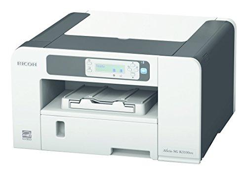 Ricoh SG K3100DN schwarz/weiß Tintenstrahldrucker (1800x600 dpi, Ethernet 10 Base-T/100 Base-TX, USB 2.0) grau