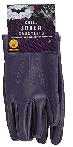 Rubies Costume Co Batman The Dark Knight Child Joker Gloves (accesorio de disfraz)