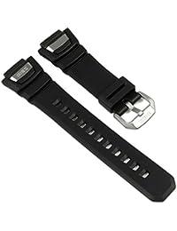 Casio Correa de Reloj Resin Band negro para GS-1100 GS-1150 GS-1400 GS-1050