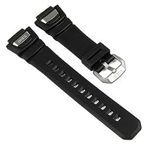 Casio Bracelet de Montre Resin Band noir pour GS-1100 GS-1150 GS-1400 GS-1050