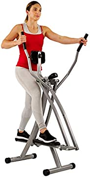 Sunny Health & Fitness Unisex Adult SF-E902 Air Walk Trainer - Silver, One