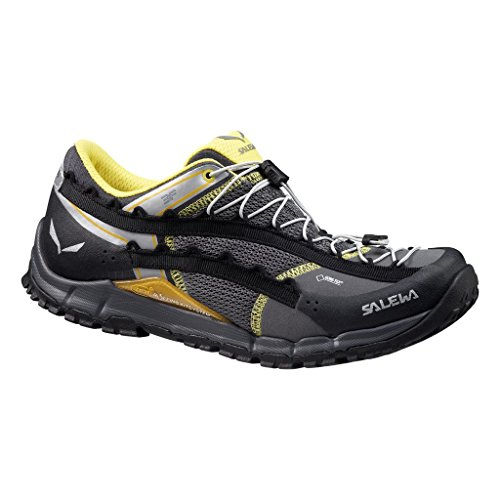 SALEWA  Ms Speed Ascent Gtx, chaussures de randonnée homme Black / Yellow