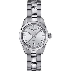 Tissot Reloj Analógico para Mujer de Cuarzo con Correa en Acero Inoxidable