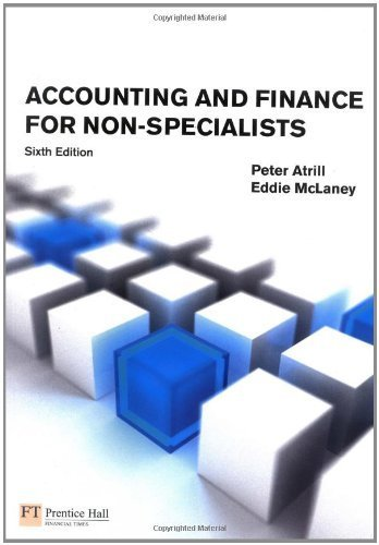 Accounting & Finance for Non-specialists with MyAccountingLab by Peter Atrill (2009-09-01)