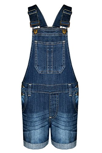 AEL AEL Mädchen-Kind-Denim Latzhose Shorts Ausstattungs-Kleid-Overall-Partei Größe 3-14 Jahre