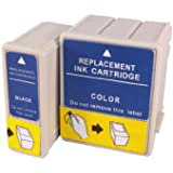 2 compatible cartridges to replace the original Epson T028, T029 cartridges, compatible with Epson C60 C61 CX3100 printers
