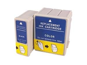 4 cartouches d'encre compatibles remplacent Epson T026, T027, compatibles avec Epson Stylus Photo 810 / 820 / 830 / 830U / 925 / 935