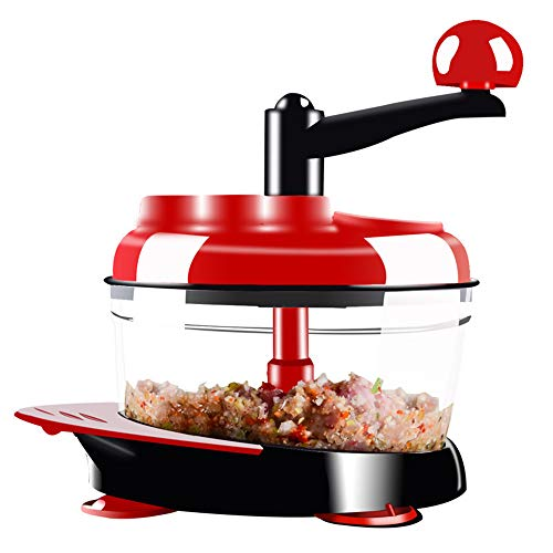 SHMB Obst-und Gemüsezerkleiner-Maschine Multifunktionsküche Handschleifwerkzeuge, Gemüseschneider, Fleisch, Brechzutaten, gemischte Gerichte, etc.
