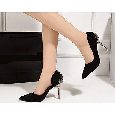 Moda Donna Sandali Sexy donna tacchi tacchi Estate Felpa casual Stiletto Heel altri nero / rosso / Argento Altri Red