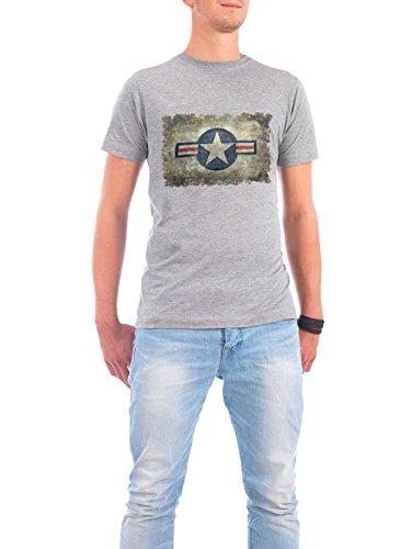 """Design T-Shirt Männer Continental Cotton """"Distressed"""" - stylisches Shirt Reise von Bruce Stanfield Grau"""