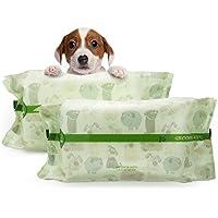 PUPMATE Toallitas para Mascotas para Perros y Gatos, Extra Húmedas y Gruesas toallitas para Cachorro con 200 Unidades de Desodorización e hipoalergénicas, Naturaleza