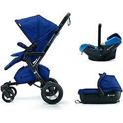 Concord Neo Travel Set - Sistema modular neo + sleeper + air 0+, Color Snorkel Blue
