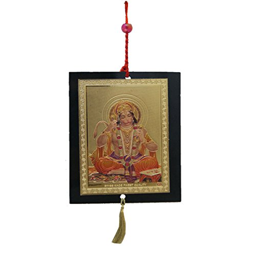 Divya Mantra Car Decoration Rear View Mirror Hanging Accessories Shri Hanuman  available at amazon for Rs.221