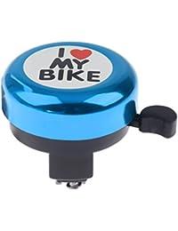 Wiwi.f Accesorios para Bicicletas Bicycle Bell Love Bells para niños (Azul) [54mm * 54mm]