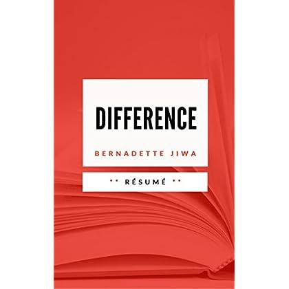DIFFERENCE: Résumé en Français
