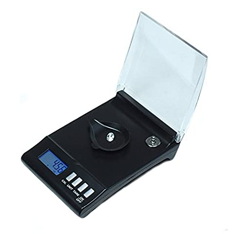 lzn Smart Weigh 30g x 0.001g Feinwaage Digitalwaage Taschenwaage Goldwaage Tara-Funktion, LCD-Display