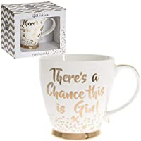 There's a chance this is gin Fine China Mug Gold Edition