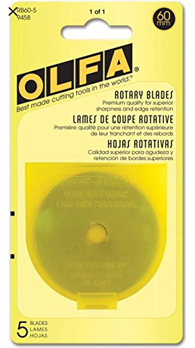 Olfa Rotary Blade Refill (5Pro Paket)-60Millimeter