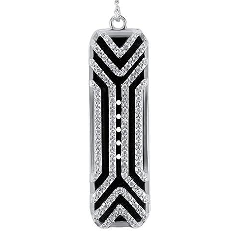 feiliandajj Armbanduhr Band, Fashion Edelstahl Halskette Slim Design Sleeve Fall Strap für Fitbit Flex 2, Kinder Herren damen, silber