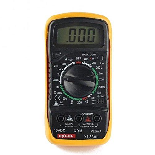 EXCEL XL830L Volt Prüfung LCD Digital Multimeter Dc-general Purpose Batterie