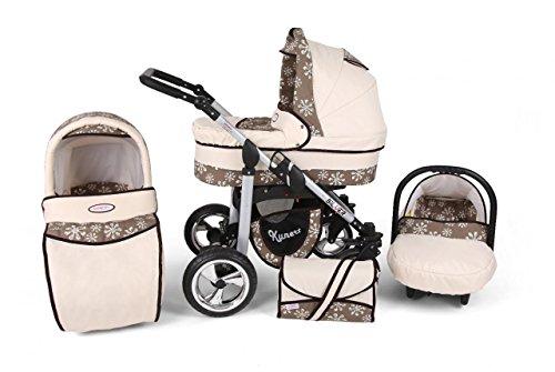 Carritos de Bebé 3 piezas, modelo Silver