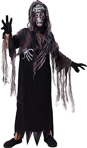 Kinder Halloween Kostüm Party Outfit Terror Reaper Mit -