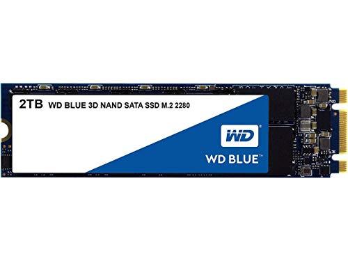 Western Digital WDS200T2B0B WD Blue 2TB 3D NAND Internal SSD M.2 SATA