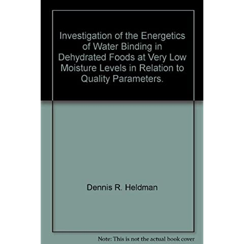Investigation of the Energetics of Water Binding