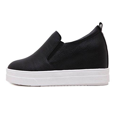 Damen Schuhe Halbschuhe designer Slipper Stretch 9190 Schwarz 41