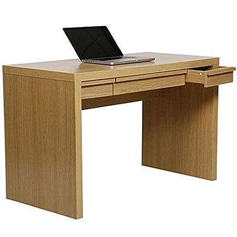 BROOKLINE - 3 Drawer Storage Office Desk / Dressing Table