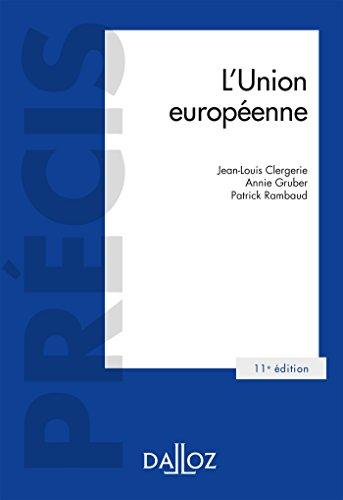 L'Union européenne - 11e éd. par Jean-Louis Clergerie