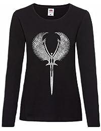 The Mermaid Conviction Valkyrie Sword Symbol T-Shirt Tamaños S-5XL UsM2Zb