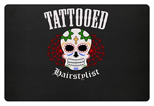 Generic Tattooed Hairstylist - Tätowierte Friseure Und Friseurinnen, Coiffeure, Frisöre, Tattoos - Fußmatte - Tattoo-fußmatte