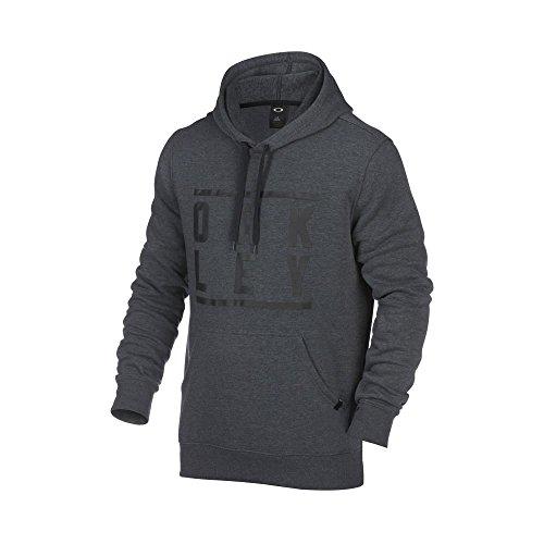 oakley-token-sweat-shirt-a-capuche-homme-blackout-lt-htr-fr-38-taille-fabricant-m
