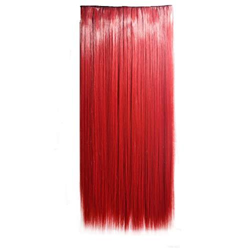 ViewHuge - Extensión de pelo recto de 61 cm