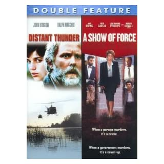 Distant Thunder (1988) & A Show Of Force (1990) - Double Pack
