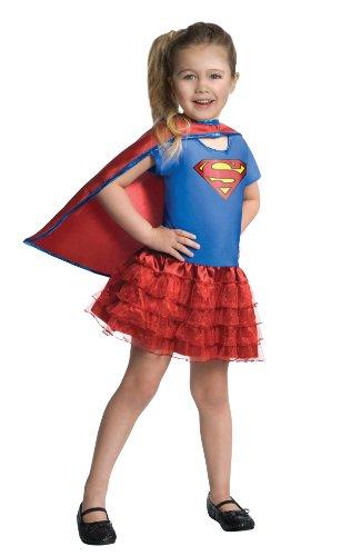 Rubies Kinder Kostüm Supergirl, Größe:S;Farbe:mehrfarbig (Supergirl Kostüm Kind)