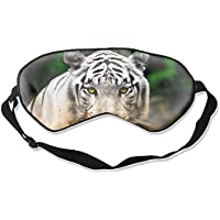 Schlafmaske, Tiermotiv, weiße Tiger, Katzen, abstrakt, furchtbar, bunt, Unisex Augenmaske preisvergleich bei billige-tabletten.eu