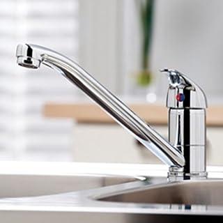 Arruba/Kasta Modern Single Lever Kitchen Sink Tap Chrome 10 Year Manufactrers Guarantee