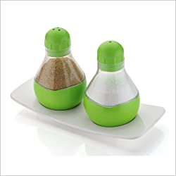 A To Z Sales (SHREEJIT) Salt and Pepper jar set of 2 Pcs.
