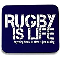 Cotton Island - Tappetino Mouse Pad T0791 rugby is life