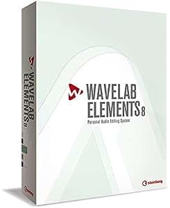 Steinberg WaveLab Elements 8 Retail GBDFIES Logiciel Séquenceur/Editeur audio destiné au mastering