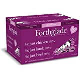 Forthglade Natural Menu Dog Food Multicase, 395 g, Pack of 12