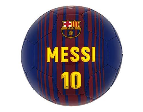 Fc Barcelone Ballon de football BARCA - Lionel MESSI - Collection officielle Taille 5