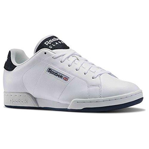 Reebok Bambino Npc Ii scarpe da ginnastica Multicolore (Blanco / Azul (White / Collegiate Navy))