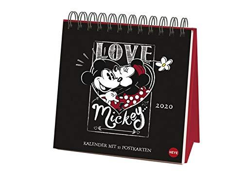 Mickey Mouse Premium-Postkartenkalender 2020 16x16,5cm -