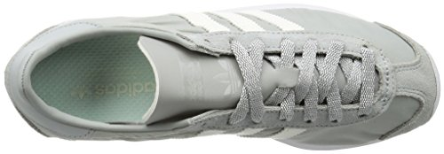 adidas Damen Country OG W Trainingsschuhe Grau (Clear Onix/Off White/Ftwr White)