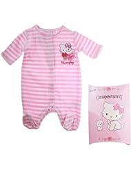 Pyjama avec boite cadeau bébé fille Charmmy kitty Rayé rose de 0 à 3mois
